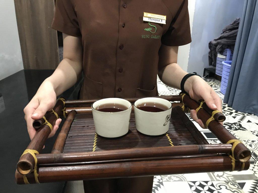 susu garden spa tea