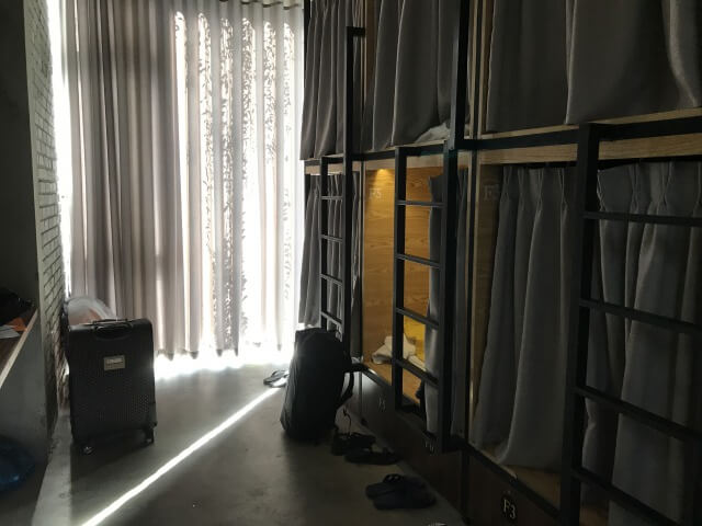 the vietnam hostel部屋